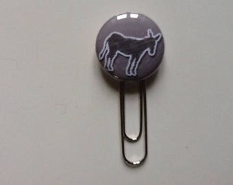 Very pretty my donkey paperclip bookmark