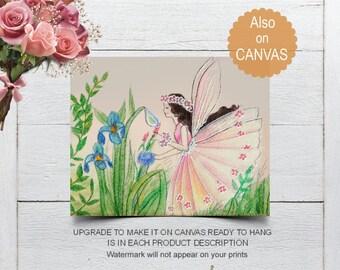Baby Girl Nursery, Fairies Wall Art, Girls room Decor, Nursery Decor, Fairies Nursery Artwork, Girl Nursery, Fairies Prints, Flower Fairies