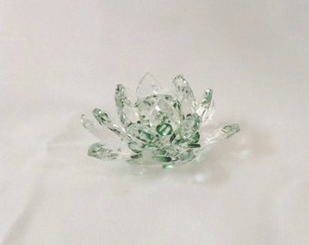 Feng Shui Crystal Lotus for Positive Energy
