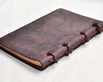 Journal, notebook, leather journal, leather notebook, , handmade journal, travel journal ,gift for your lover  Free add name