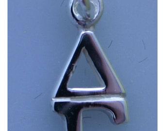 Delta Gamma Sterling Silver Lavalier