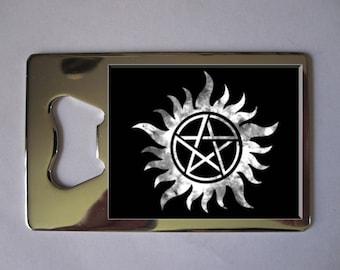 Supernatural Anti Possession Pentagram Bottle Opener