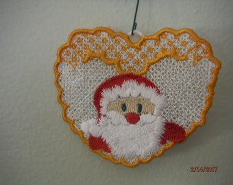 Free Standing Lace Christmas Ornament