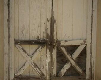 Vintage Barn Door Print