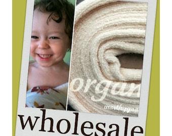 10 Yards Organic Terry Cloth Fabric By the Yard Yardage US Made Domestically Made GOTS Certified Yardage Cream Ivory