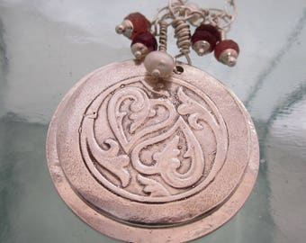 Handcrafted Silver Remembrance Locket