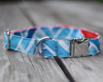 PREMIUM COLLECTION, Eco Canvas Collar, SEASPRAY, Dog, Collar, Dog Collar, Waterproof, Buckle, Martingale