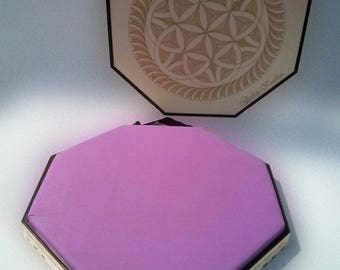 Diamond lace diameter 50 cm with lid