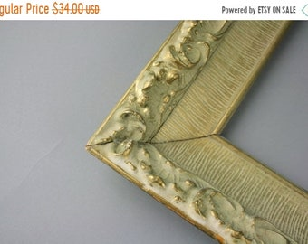 SALE SALE SALE Vintage Frame Gold Gesso Ornate Wide Home Decor Victorian Goth Renaissance