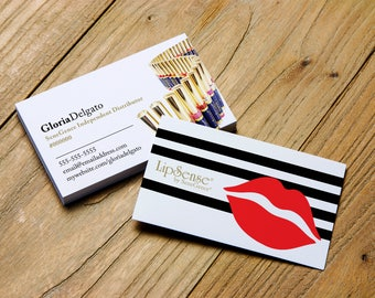 LipSense > Printable Business Card > Personalized for SeneGence Independent Distributors