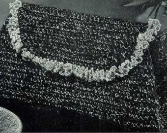 Vintage Hand Bag Crochet Pattern