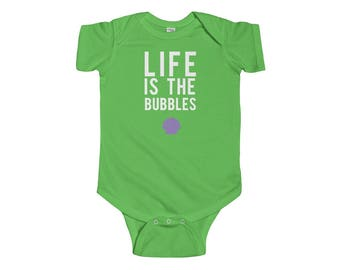 Life Is The Bubbles Little Mermaid Infant Bodysuit