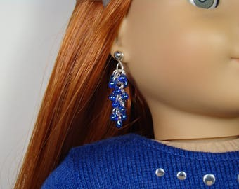 """Shaggy Earring Dangles for 18"""" Play Dolls such as American Girl®"""
