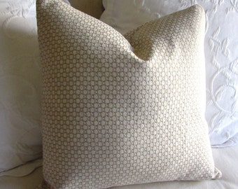 Chenille decorative Pillow Cover 18x18 20x20 22x22 24x24 26x26 cashmere ivory