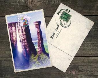 Up Movie Paradise Falls Postcard