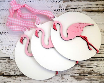 20 pink flamingo favors, tropical wedding favor, summer wedding favour, summer party favor, hen party, tropical wedding flamingo decoration