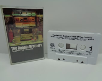 The Doobie Brothers Best of the Doobies Cassette