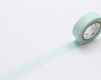 pastel mint - mt basic colour - washi tape