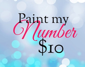 Paint My Number