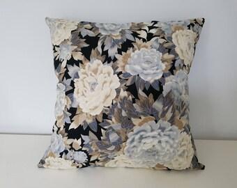 Peony cotton Cushion cover