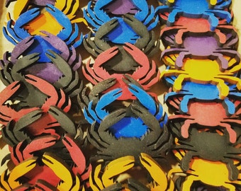 Crab Magnets - Set of 2