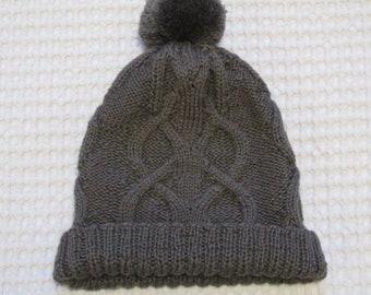 Children's knit hat, knit children hats, winter hat, knit hat, wool hat, READY TO SHIP