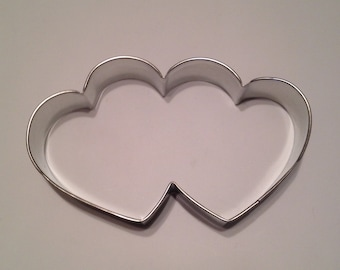 Large Double Heart Cookie Cutter