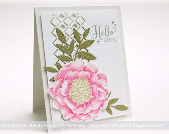 Hello Friend Greeting Card - MISC 014