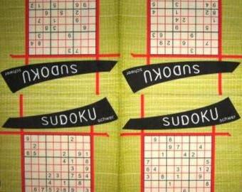 PAPER TOWEL Sudoku #DI033 grids