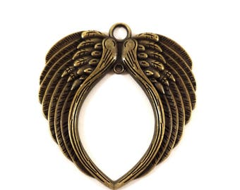 1 charm wing color bronze (Ref.70)