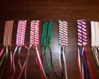 1980's Ribbon Barrettes