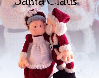 11B - Mrs. Santa Claus (Crochet Pattern)