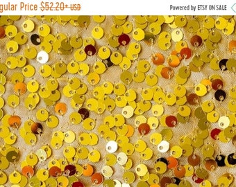 ON SALE GOLD Sequin Fabric Photography Backdrop, Photo Booth Backdrop - Made in Usa