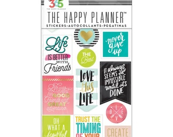 The Happy Planner - Create 365 - Me and My Big Ideas - Life Quotes
