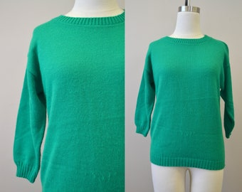 1980s Bugoff! Kelly Green Sweater