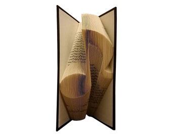 Music Note Folded Book - Folded Book Art - Book Sculpture - Music Book - Music Teacher Gift - Unique Gift - Piano Teacher Gift