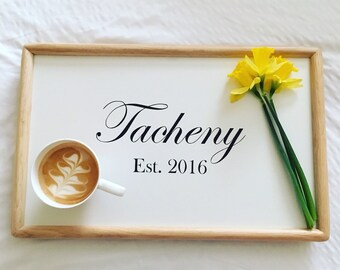 Breakfast Tray- Custom