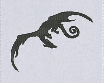 Dragon Machine embroidery design