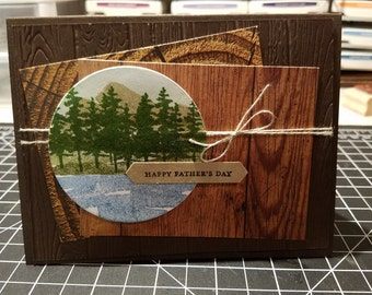 Father's Day Card Nature