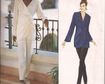 ON SALE Vogue Paris Original Pattern - Emanuel Ungaro 1542 Jacket and Pants Size 12-16 Factory folded and complete