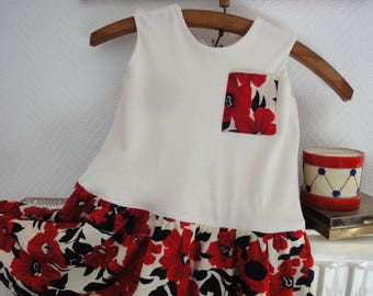the small floral summer dress for girl