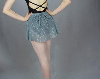 """12"""" Even Hem Ballet Wrap Skirt"""