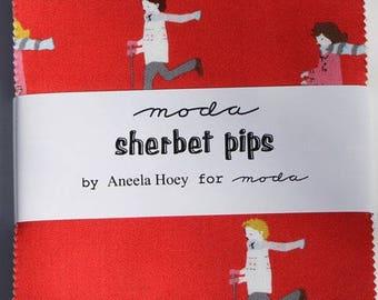 Sherbet Pips Charm Pack - Moda Fabrics