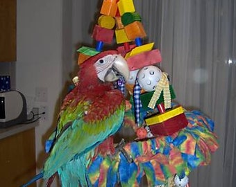 Wacky Swing the Ultimate X-Large Parrot Toy Macaw Cockatoo Bird
