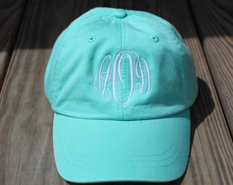 Monogrammed Hat Set of 7 Baseball Cap, Bridesmaid Gift, Groomsman Gift, Personalized, Monogrammed