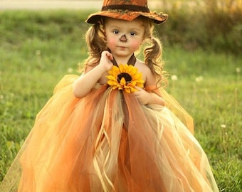 STOREWIDE SALE Sassy Little Scarecrow Tutu Dress Only-Hat is Discontinued