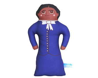 Harriet Tubman Doll - African American History Handmade Soft Art Cloth Doll - LIMITED EDITION