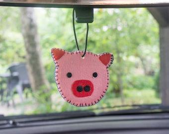 Pig Car Freshener - Air Freshener - Essential Oils - Car Decor - Car freshener