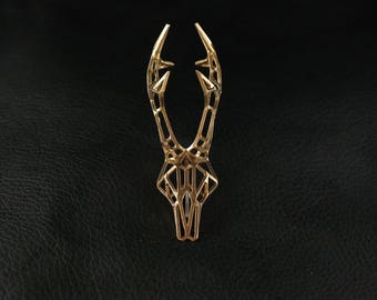 Hatpin Roe Bronze