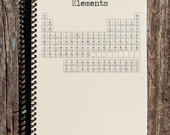 Periodic Table Journal - Periodic Table Notebook - Science Notebook